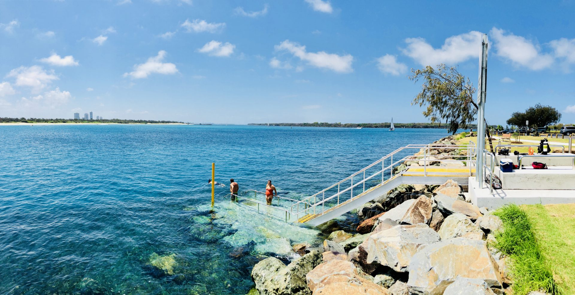 Gold Coast Seaway Diver Access Stairs